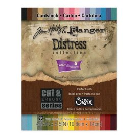 DESIGNER BLÖCKE / DESIGNER PAPER Tim Holtz Ranger Distress Collection