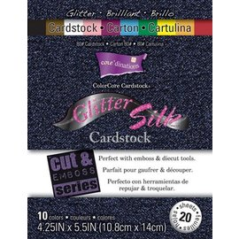 DESIGNER BLÖCKE / DESIGNER PAPER ColorCore karton Glitter