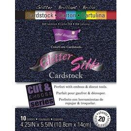 Karten und Scrapbooking Papier, Papier blöcke ColorCore Cardstock Glitter