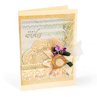 embossing Präge Folder Embossing folders: Scallop Circle Doily Set