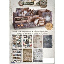 MDF Desk organizer inkl. Papir Industrial