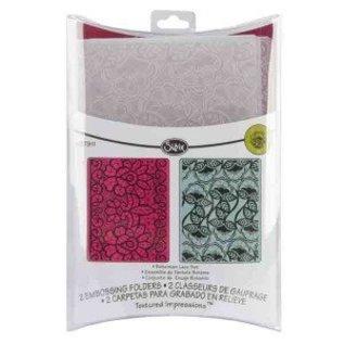 embossing Präge Folder Prägefolder: Bohemian Lace Set