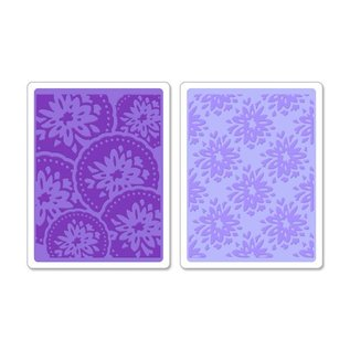 embossing Präge Folder Embossing folders: Courtyard & Medallion Set