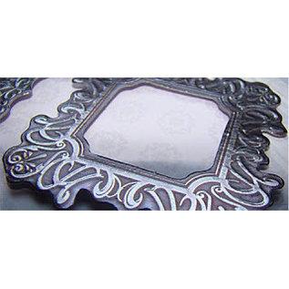 Embellishments / Verzierungen Metallic gaufré Carton