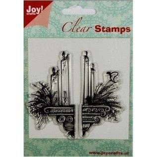 Joy!Crafts / Hobby Solutions Dies Gennemsigtige Frimærker: stearinlys dekoration