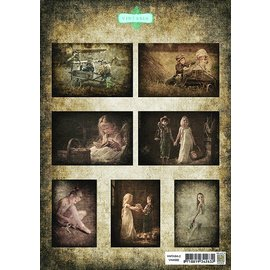 BILDER / PICTURES: Studio Light, Staf Wesenbeek, Willem Haenraets A4, Bilderbogen: children2 Vintasia-serie