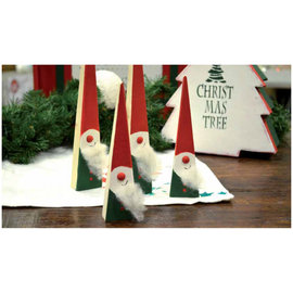 BASTELSETS / CRAFT KITS Komplettes Bastelset für Weihnachtsdekoration