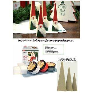 BASTELSETS / CRAFT KITS Bastelset completa per la decorazione di Natale