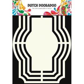 Dutch DooBaDoo Schablone: Dutch Shape Art, Labels