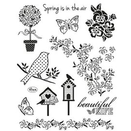 My paperworld (Viva Decor) Transparente Stempel, Natur