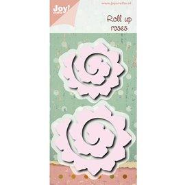 Poinçonnage et gaufrage modèle: Roll up roses