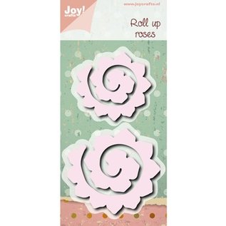 punching and embossing template roll up roses hobby crafts24 eu