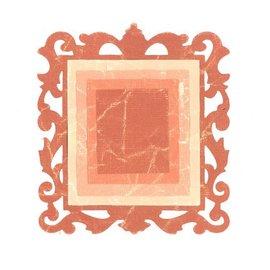 Sizzix Estampillage et dossier de gaufrage SET: 3 rectangles et 1 cadre décoratif