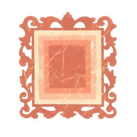 Sizzix Stamping and embossing folder SET: 3 rectangles and 1 decorative frame