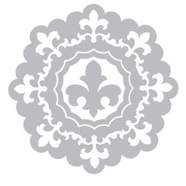 Sizzix Stamping and embossing folder SET: 3 Round decorative frame