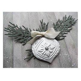 Marianne Design Stansning og prægning skabelon: Tiny s Pine gren