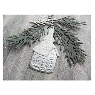 Marianne Design Stanz- und Prägeschablone: Tiny's Pine tree branch