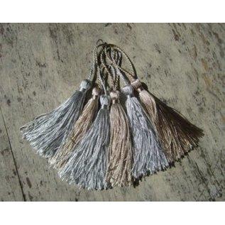 Embellishments / Verzierungen Tassel in silver