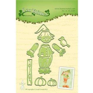 Leane Creatief - Lea'bilities Poinçonnage et modèle de gaufrage: Scarecrow