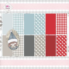 Karten und Scrapbooking Papier, Papier blöcke Designer Block, 15,5 x 15,5 cm, Basics
