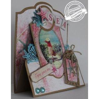 Marianne Design Stansning og prægning skabelon: Romantisk sommer