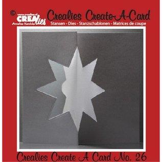 Crealies und CraftEmotions Poinçonnage et modèle de gaufrage :. N ° de carte 26 poinçon