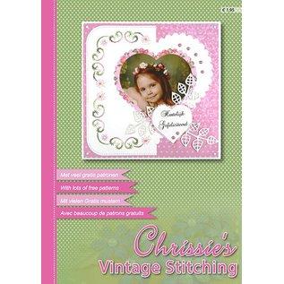 Bücher und CD / Magazines le magazine A4 de Nelli Snellen, Chrissie`s Vintage Stitching