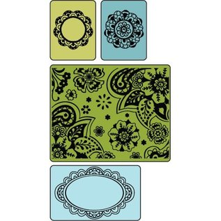 embossing Präge Folder Embossing folders: Freefall Florals Set