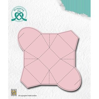 Nellie Snellen Punching and embossing template: gift boxes, boxes