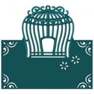 Die'sire Stanz- und Prägeschablone von Diesire, Elegant Birdcage