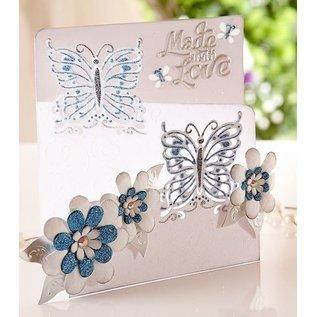 Die'sire Stanz- und Prägeschablone von Diesire, Schmetterling Liebe