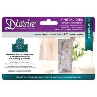Die'sire Stempling og prægning stencil af Diesire, smuk buket