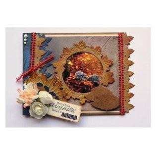 Joy!Crafts / Hobby Solutions Dies Stanz- und Prägeschablone: Bordüre mit Blätter