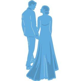 Marianne Design Stanz- und Prägeschablone: Brautpaar