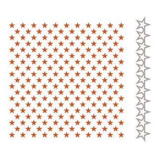 Marianne Design Embossingsfolder + Stanschablone: Sterne
