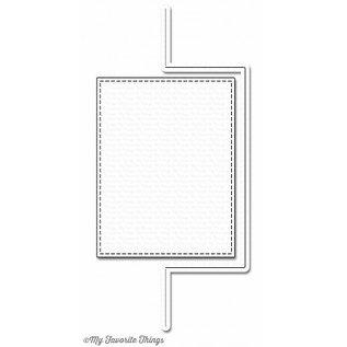 Die-namics Stanz- und Prägeschablone: Flop Card Rechteck