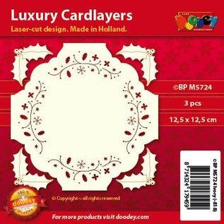KARTEN und Zubehör / Cards mises en page de cartes de luxe, 3 pièces