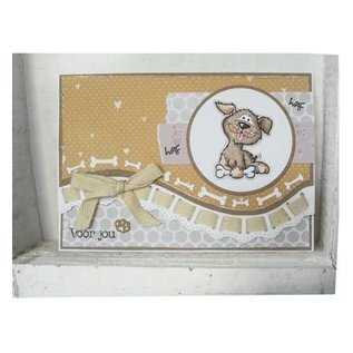 Marianne Design Punching and embossing template: Motives for cat and dog