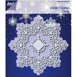 Joy!Crafts / Hobby Solutions Dies 10% rabat skæring dør: Winter Wishes Doilie - eneste tilgængelige!