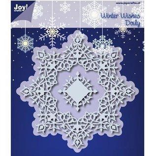 Joy!Crafts / Hobby Solutions Dies Skæring dies: Winter Wishes Doilie - eneste tilgængelige!
