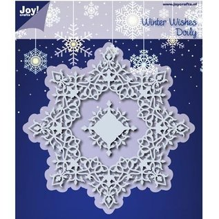 Joy!Crafts / Hobby Solutions Dies Stanzschablonen: Winter Wishes Doilie - nur noch 1 vorrätig!