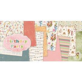 "DESIGNER BLÖCKE / DESIGNER PAPER Bloque diseñador, 30,5 x 30,5 cm, ""fiesta de cumpleaños"""
