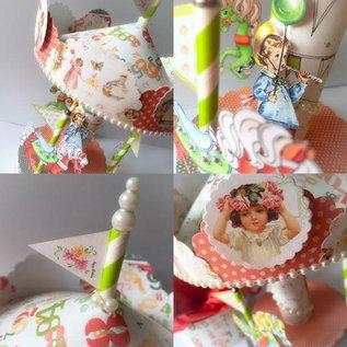 "DESIGNER BLÖCKE / DESIGNER PAPER Designerblock, 30,5 x 30,5cm, ""Birthday Party"""