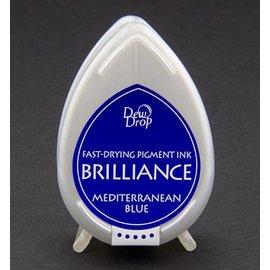 FARBE / STEMPELINK Brilliance Dew Drop, blu del Mediterraneo