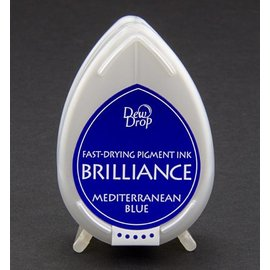 FARBE / STEMPELINK Brilliance Dew Drop, Middelhavet blå