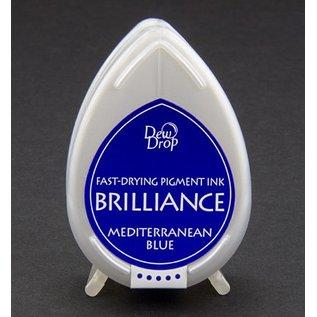 FARBE / STEMPELINK Brilliance Dew Drop, bleu Méditerranée