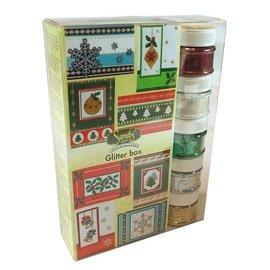 Joy!Crafts / Hobby Solutions Dies SÆRTILBUD! Maxi jul glitter kasse
