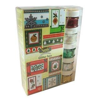 Joy!Crafts / Hobby Solutions Dies SPECIALE AANBIEDING! Maxi Kerstmis schittert doos