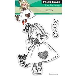 Penny Black timbre transparent: Xoxo