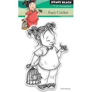 Penny Black Transparent Stempel: Fan's cricket